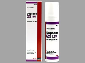 dapsone 7.5 % topical gel with pump