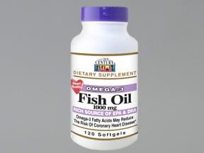 omega-3 fatty acids-fish oil 300 mg-1,000 mg capsule