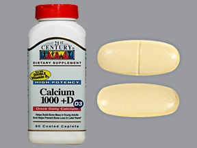 calcium carbonate-vitamin D3 1,000 mg (2,500 mg)-800 unit tablet