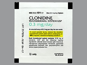 Clonidine Transdermal : Uses, Side Effects, Interactions