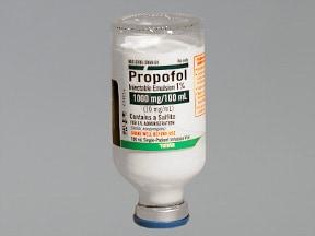 propofol 10 mg/mL intravenous emulsion