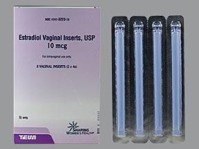 estradiol 10 mcg vaginal tablet