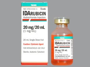 idarubicin 1 mg/mL intravenous solution