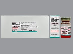 doxorubicin 10 mg/5 mL intravenous solution