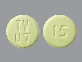 olanzapine 15 mg disintegrating tablet