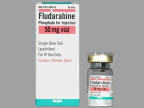fludarabine 50 mg intravenous solution