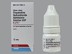 olopatadine 0.2 % eye drops