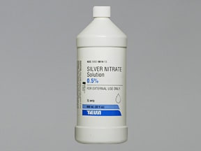 silver nitrate 0.5 % topical solution