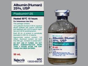 Plasbumin 25 % intravenous solution