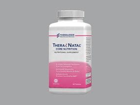 TheraNatal 27 mg iron-1 mg tablet