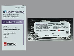 Eligard 30 mg (4 month) subcutaneous syringe