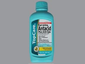 Antacid Plus Anti-Gas 200 mg-200 mg-20 mg/5 mL oral suspension