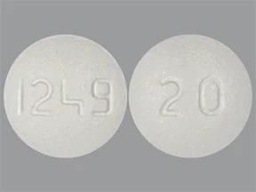 olmesartan 20 mg tablet