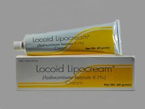 Locoid Lipocream 0.1 % topical