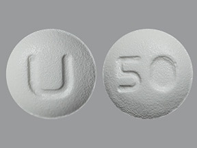 quetiapine 50 mg tablet