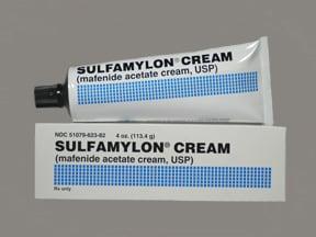 Sulfamylon 85 mg/g topical cream