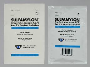 Sulfamylon 50 gram topical packet