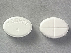 Medrol (Pak) 4 mg tablets in a dose pack