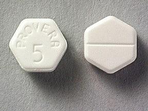 Provera 5 mg tablet