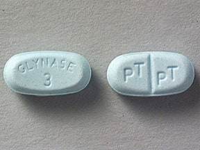 Glynase 3 mg tablet