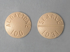 Aldactone 100 mg tablet