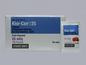Klor Con 25 Oral Uses Side Effects Interactions