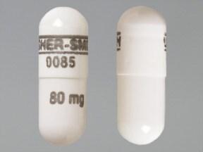 propranolol ER 80 mg capsule,24 hr,extended release