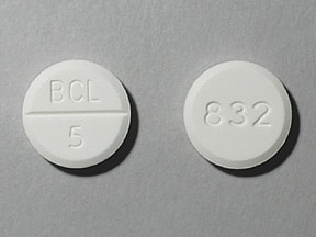bethanechol chloride 5 mg tablet