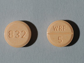 Jantoven 5 mg tablet