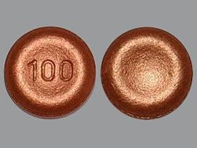 Xadago 100 mg tablet