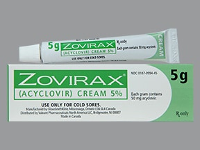 Zovirax Topical Uses Side Effects Interactions