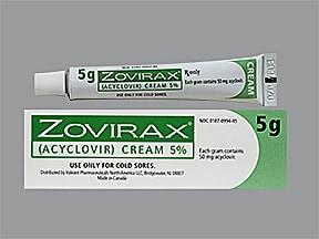 Zovirax 5 % topical cream