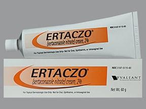 Ertaczo 2 % topical cream