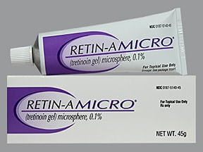 Retin-A Micro 0.1 % topical gel