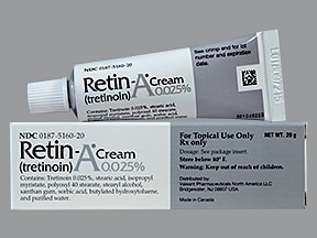 Retin-A 0.025 % topical cream
