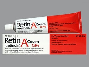 Retin-A 0.1 % topical cream