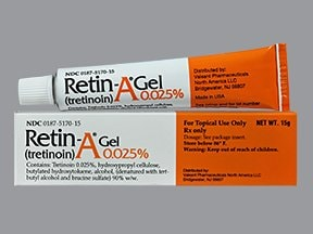 Retin-A 0.025 % topical gel