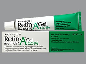 Retin-A 0.01 % topical gel