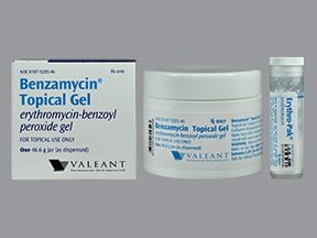 Benzamycin 3 %-5 % topical gel