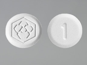 Fanapt 1 mg tablet