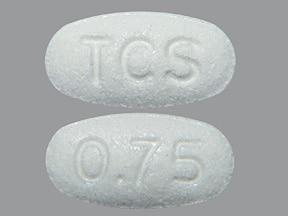 Envarsus XR 0.75 mg tablet,extended release