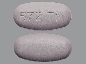 Triumeq 600 mg-50 mg-300 mg tablet