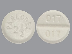 Parlodel 2.5 mg tablet