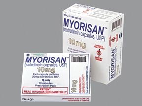 Myorisan 10 mg capsule