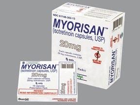 Myorisan 20 mg capsule