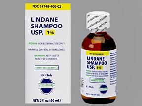 lindane 1 % shampoo