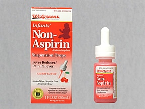 Infant's Pain Reliever 80 mg/0.8 mL oral drops,suspension