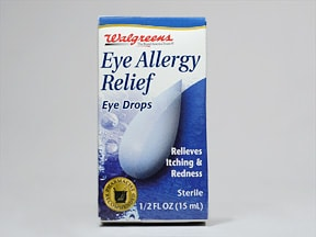Eye Allergy Relief (naphazoline-pheniramine) 0.025 %-0.3 % drops