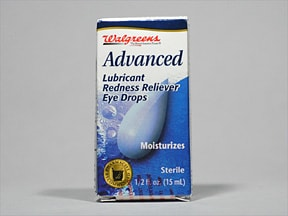 Lubricant Redness Reliever 0.05 %-1 % eye drops