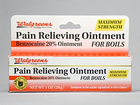 Pain Relieving (benzocaine) 20 % topical ointment